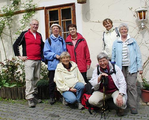 Wandergruppe Untere Rauner Mühle 2008